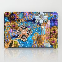 Gold, Glitter, Gems and Sparkles iPad Case