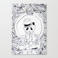 Pandi-Panda Canvas Print