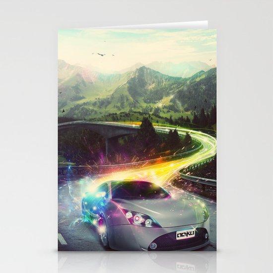 Superhighway Stationery Card