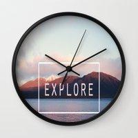 Explore. New Zealand Wall Clock