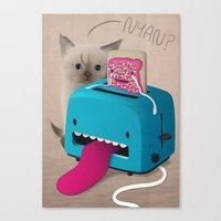 Pop Tart Canvas Print