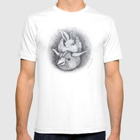 Totem Mens Fitted Tee White SMALL