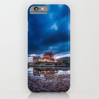 iPhone & iPod Case featuring Stormy Skies over Eilean Donan Castle 2 by Bel Menpes