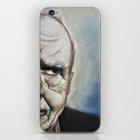 Elderly Man iPhone & iPod Skin