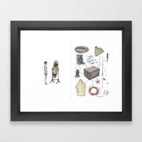 The Fisherman's Son Framed Art Print