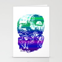Monkeys In Living Color Stationery Cards