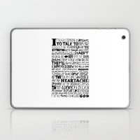 Word Laptop & iPad Skin