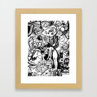 Abstinence Educated Framed Art Print