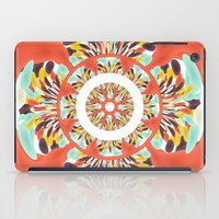 Colorful mandala iPad Case
