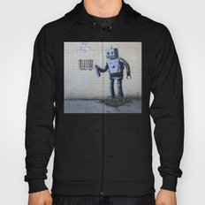 Banksy Robot (Coney Island, NYC) Hoody