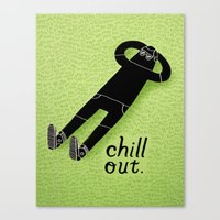 Chill Out Canvas Print