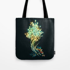 ElectriciTree Tote Bag