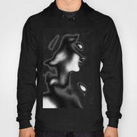 Abstract Female Hoody