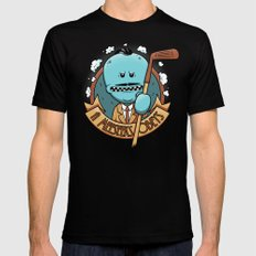 A Meeseeks Obeys Black Mens Fitted Tee SMALL