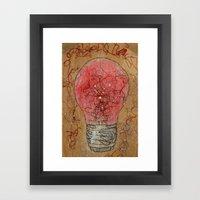Redlightgo! Framed Art Print