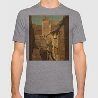 Dusk Mens Fitted Tee Tri-Grey SMALL