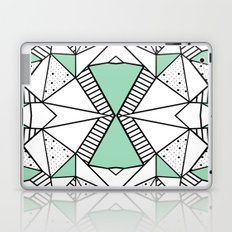 Ab Lines and Spots Mint Laptop & iPad Skin