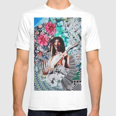 Dirty Love Mens Fitted Tee White SMALL