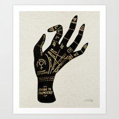 Palmistry Art Print