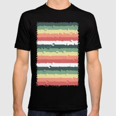 Candy Roll Mens Fitted Tee Black SMALL