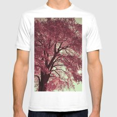 Autumn Blood Mens Fitted Tee SMALL White