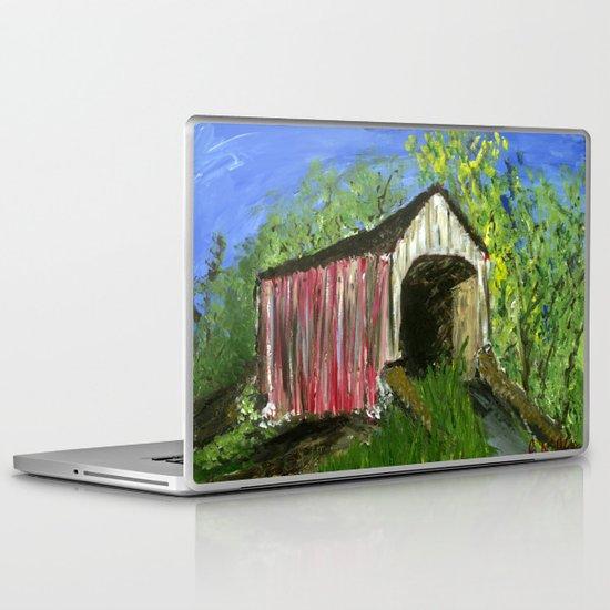 Erwinna Covered Bridge  Laptop & iPad Skin