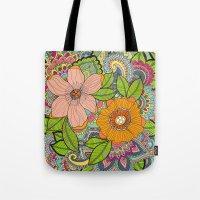 Wall Flower Tote Bag