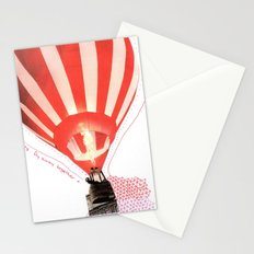 Let's fly away together Stationery Cards