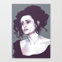 Helena Bonham Carter (Sweeney Todd) Canvas Print