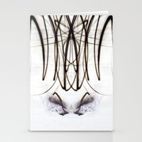 Lights Mirror Image IV Stationery Cards