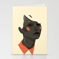 Face off 1 Stationery Cards