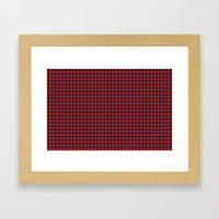 Aberdeen University Tartan Framed Art Print