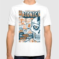 BIONIC! Mens Fitted Tee White SMALL
