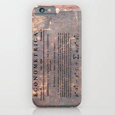 Economics Slim Case iPhone 6s