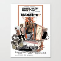 Love And Let Go - Movie … Canvas Print