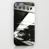 iPhone & iPod Case featuring blue line by Jaina Tharakan