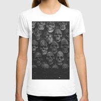 skulls T-shirts featuring SKULLS by Danielle Fedorshik
