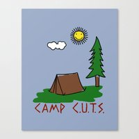 Camp C.U.T.S. Canvas Print