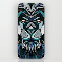 Blue Lion iPhone & iPod Skin