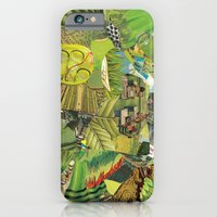 iPhone & iPod Case featuring Green by Guilherme Lepca