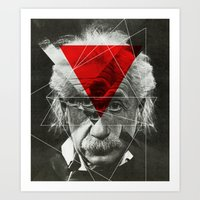 Albert E Mix 3c Art Print