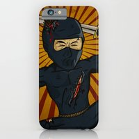 iPhone & iPod Case featuring DK Ninja by Warren Glass