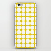 Franzen Yellow iPhone & iPod Skin