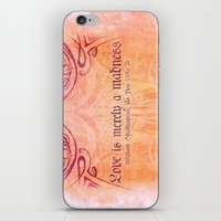 'Love Is Merely A Madnes… iPhone & iPod Skin