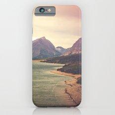 Retro Mountain Lake Slim Case iPhone 6s