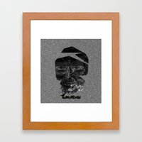 Tornface Framed Art Print