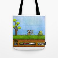 Duck Hunt Tote Bag