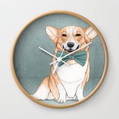 Corgi Dog Wall Clock