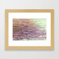 Mini square colors Framed Art Print