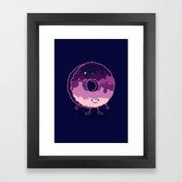 The Cosmic Donut Framed Art Print